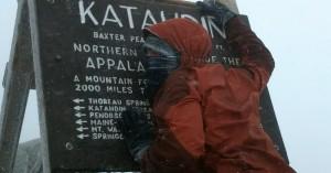 """Summiting Katahdin- The """"Side Hike"""" of the Year"""