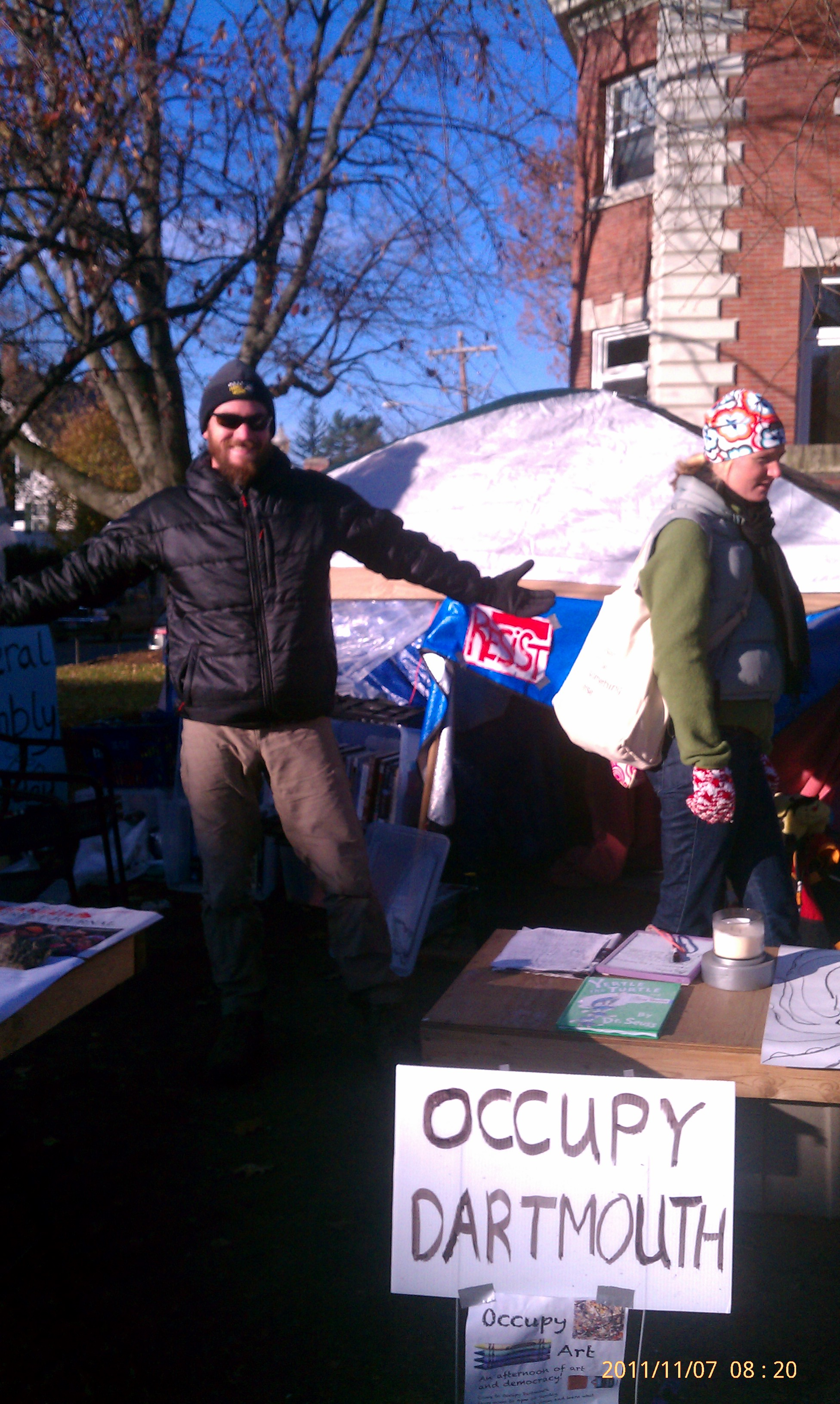 Occupy AT- I'm Such an Awesome Protester